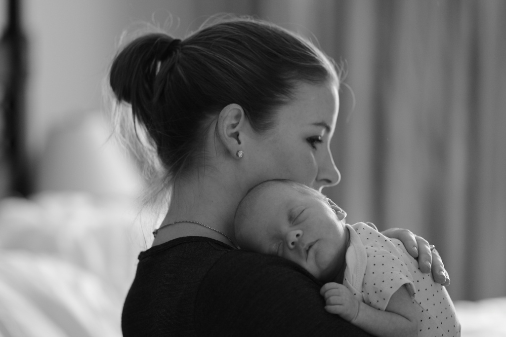 The anxiety of being a first-time parent
