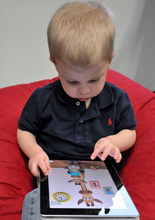 Some thoughts on hand-held devices for children