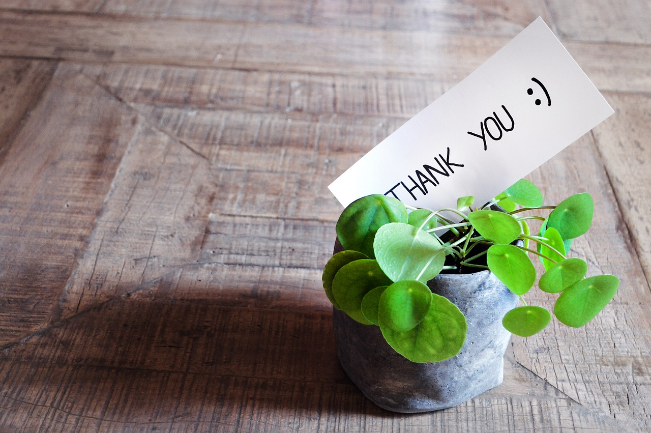 The Life-changing Magic of Saying Thank You
